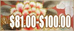 kimonos $81.00 - $100.00