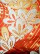Photo8: Mint F1202B Used Japanese Kimono  Deep Orange UCHIKAKE Wedding by Silk. Flower  (Grade A) (8)