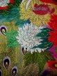 Photo12: Mint F1202C Used Japanese Kimono  Shiny Purple UCHIKAKE Wedding by Silk. Peacock  (Grade A+) (12)