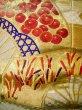 Photo13: F1202E Used Japanese Kimono  Light Beige UCHIKAKE Wedding by Silk. Folding fan  (Grade A) (13)