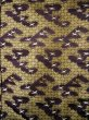 Photo4: I0112C Used Japanese Kimono Smoky Dark Purple UCHIKAKE Wedding / Silk. Crane  (Grade D) (4)