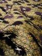 Photo11: I0112C Used Japanese Kimono Smoky Dark Purple UCHIKAKE Wedding / Silk. Crane  (Grade D) (11)