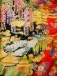 Photo18: I0112H Used Japanese Kimono  Deep Red UCHIKAKE Wedding / Silk. Crane  (Grade B) (18)