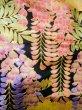 Photo20: I0112H Used Japanese Kimono  Deep Red UCHIKAKE Wedding / Silk. Crane  (Grade B) (20)