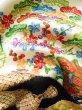 Photo18: Mint J1223D Used Japanese   Black FURISODE long-sleeved / Silk. UME plum bloom,   (Grade A) (18)