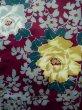 Photo4: K0712K Used Japanese   Purple HAORI short jacket / Silk. Peony,   (Grade B) (4)