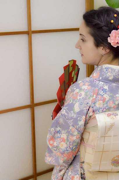 kimono experience - kimono