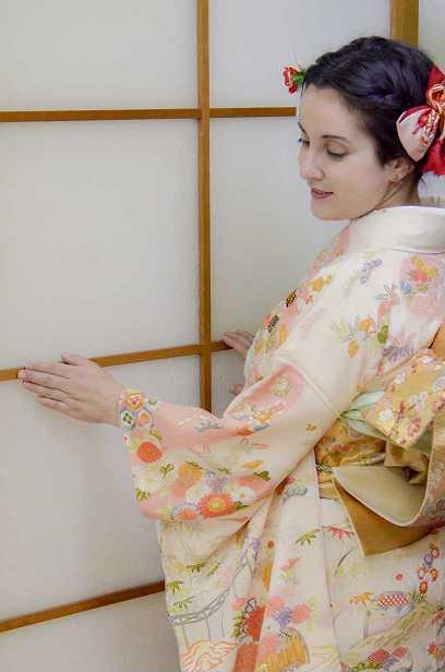 kimono experience - furisode